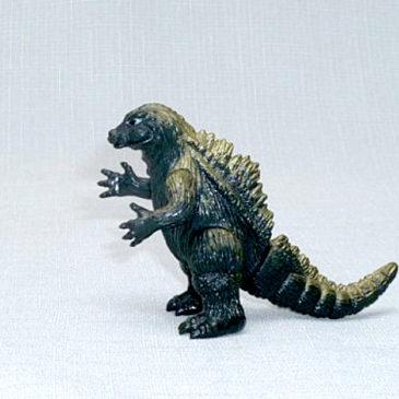 Yamakatsu Gold Fin Godzilla 1983 Vintage