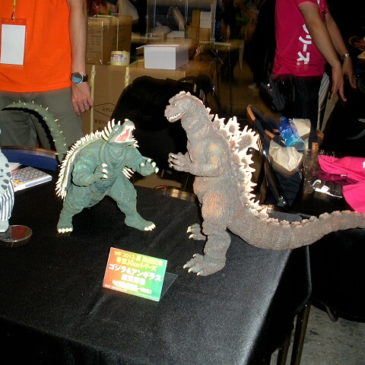 X Plus Wonderfest Limited Edition Godzilla 55 Figure Angilas Set