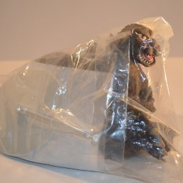 Jumping Godzilla Figure 1965 Shie Style Hazawa Gumi 2008 Mint in Bag