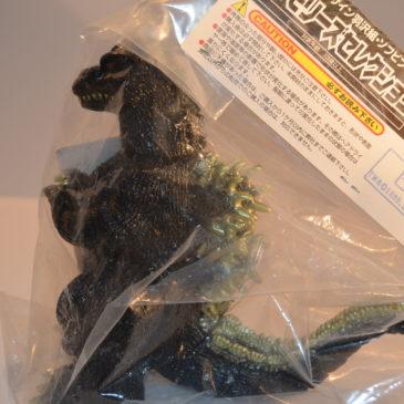Closed Mouth Godzilla Figure 1989 Hazawa Gumi 2009 Mint in Bag