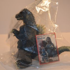 Closed Mouth Godzilla Figure 1989 Hazawa Gumi 2015 Mint in Bag