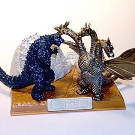 Best of Godzilla Mini Diorama Godzilla vs King Ghidorah