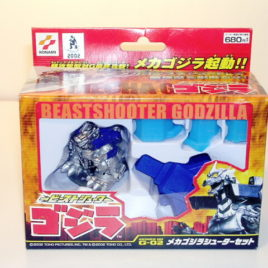 Beast Shooters MechaGodzilla 2003 Super Deformed Shooter Set