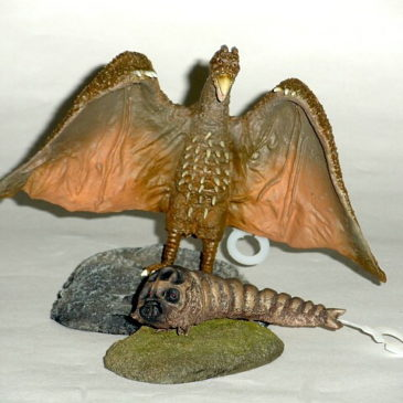 Cast Co. Rodan Mothra Larva Osaka Toy Event Version 2011