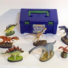 Colorata 7 piece Dinosaur Set Volume 3 Jurassic
