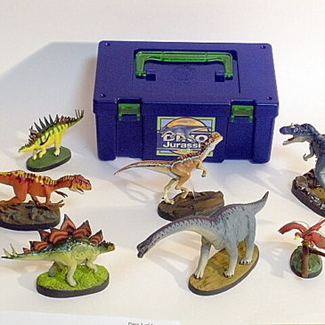 Colorata 7 piece Dinosaur Set Volume 3 Jurassic