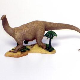 Yujin Dinosaur figure Apatosaurus B version