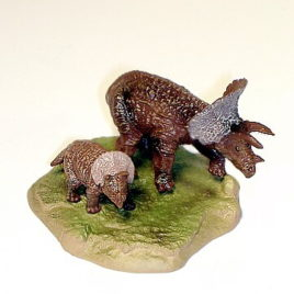 Bandai Triceratops with Baby