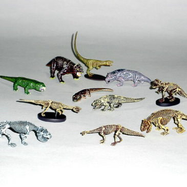 Dawn of the Dinosaurs Exclusive Full Set of Mini Figures