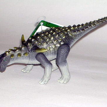 Happinet Sauropelta Dinosaur Toy Figure