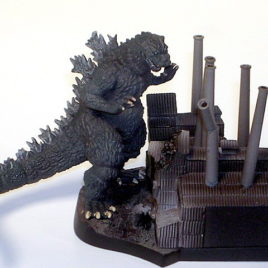 Art Works Collection 2 Sci-Fi Toho Diorama Set Godzilla 1955