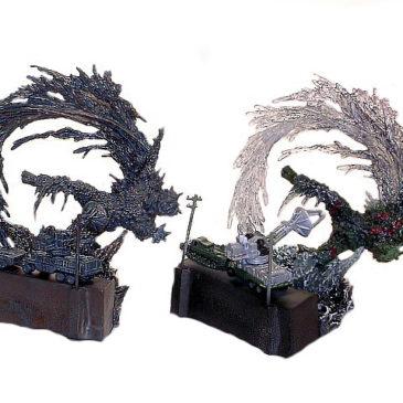 Art Works Collection 2 Sci-Fi Toho Gargantuas Diorama Set