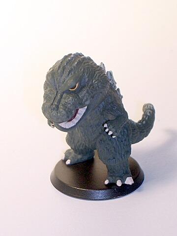 Tokusatsu Heroes Super Deformed Godzilla 1962
