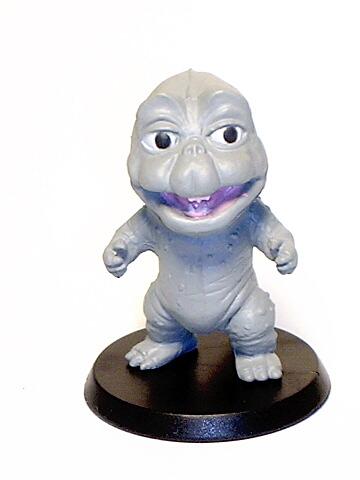 Tokusatsu Heroes Super Deformed Minya Son of Godzilla