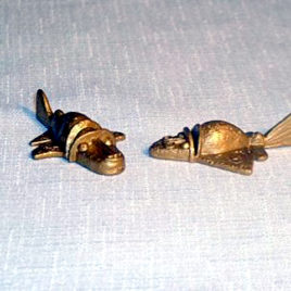 Collect Club Series 2 Mayan Spaceships UFO Golden Shuttle