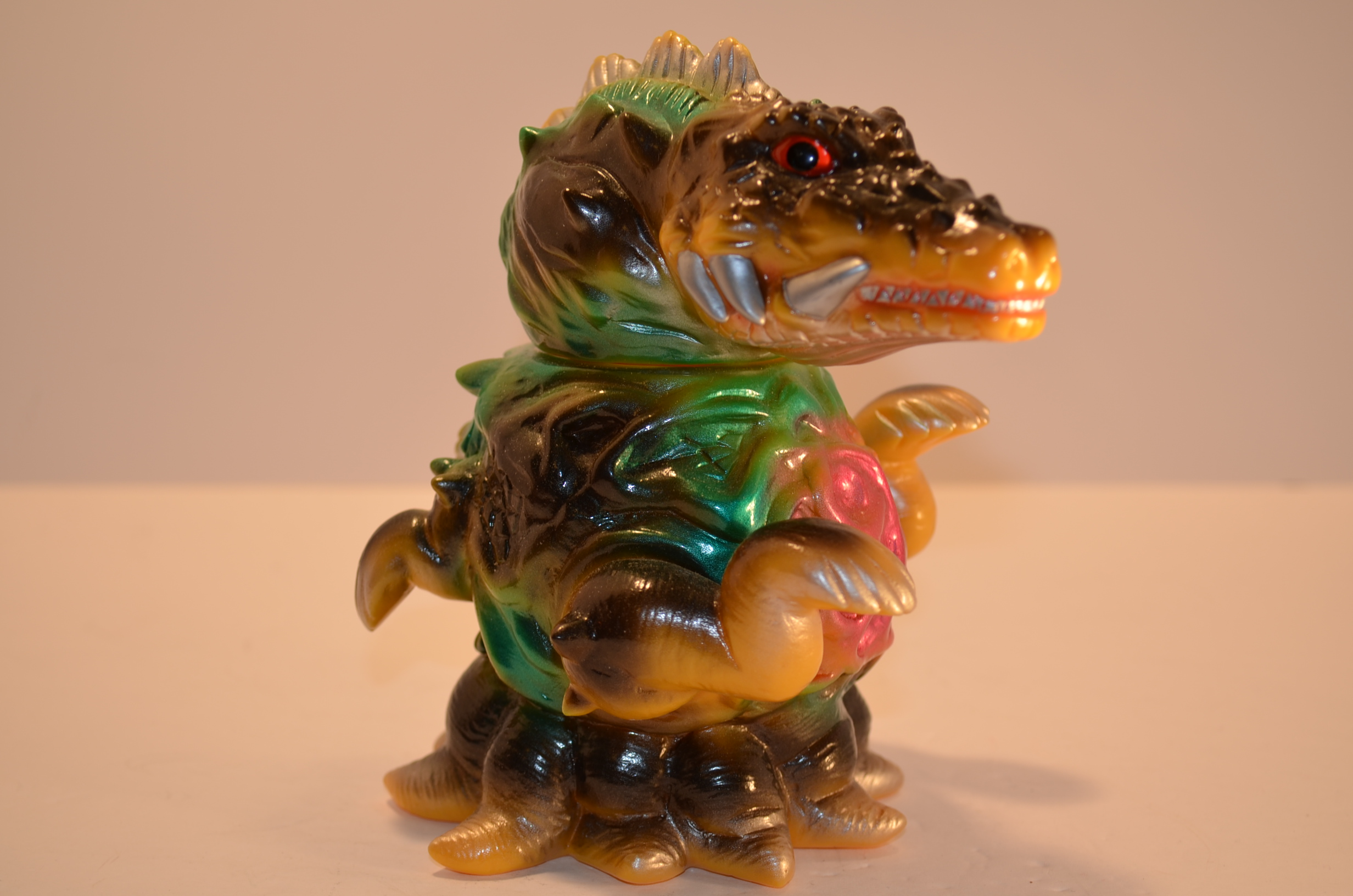 Charactics Biollante Rare Painted and Signed by Yuji ...