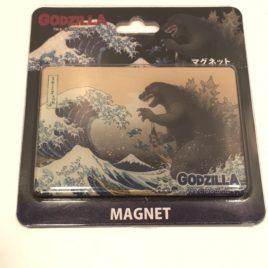 Godzilla Appears in Ocean Wave Refrigerator Magnet Japan
