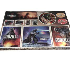 Godzilla Sticker Sheet Theater Exclusive Item 2014