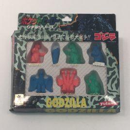 Godzilla Mini Figure Play Set Yutaka 1992