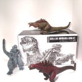 Shin Godzilla 2016 Morph Version Movie Monster 3 piece Set