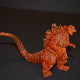 Clear Burning Godzilla 2017 High Grade Capsule Toy
