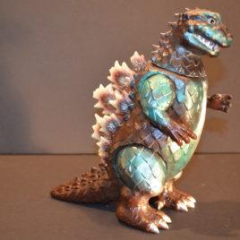 Godzilla 1954 Glow Fins Toy Graph 2007 Figure