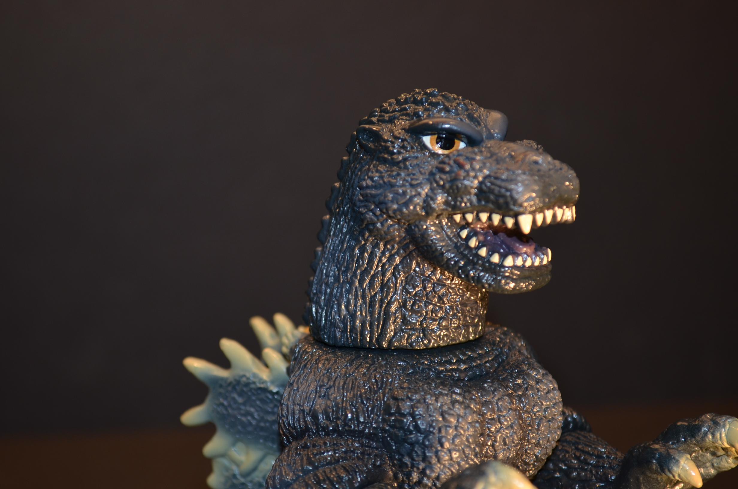 Godzilla 1991 Hazawa Gumi Gray No Bag Loose Clawmark Toys