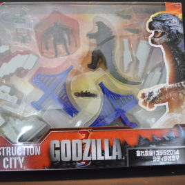 Destruction City Play Set from Godzilla 2014 Mint