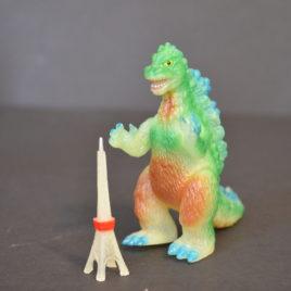 Godzilla Tokyo Tower Glow Mini Figure