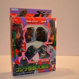 Godzilla Destroyer Mechagodzilla Space Godzilla Super Deform Playset Yutaka 1995