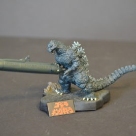 Yuji Sakai Directory Set Godzilla vs King Ghidora 1991 Submarine Diorama Rare