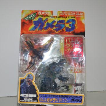 Xebec Battle Damage Gamera 3 Rare 1999 Kaiyodo