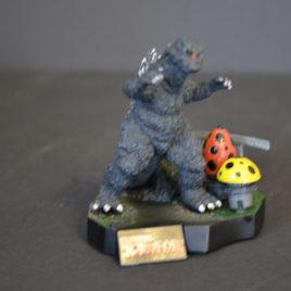Yuji Sakai Diorama 3 Godzilla 1972 vs Gigan