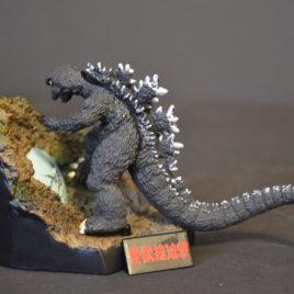 Yuji Sakai Diorama 3 Godzilla 1968 Destroy All Monsters