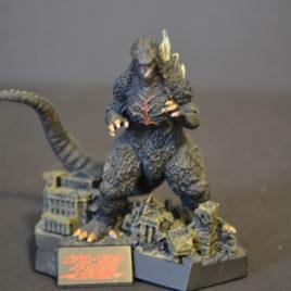 Yuji Sakai Diorama 1 Godzilla 2004 Tokyo SOS