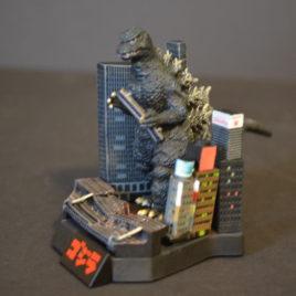 Yuji Sakai Diorama 1 Godzilla 1984 Stomping on City No Paper Rare