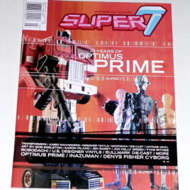 SUPER 7 MAGAZINE Vol#1 issue3 Transformers Optimus Prime RARE