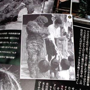 Tokusatsu Shoshingeki Toho Godzilla Kaiju Special Effects Book