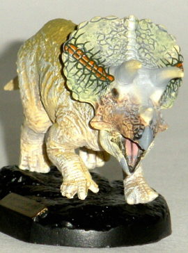 Dino Kingdom Expo Japan 2012 Triceratops Capsule Figure Toy