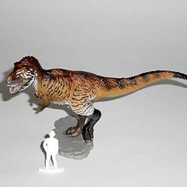 Limited Edition Special Tyrannosaurus Rex Figure Kaiyodo CapsuleQ