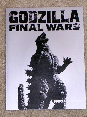 Theater Exclusive Godzilla Final Wars CD Movie Program Book