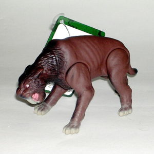 Happinet Saber Tooth Tiger (Smilodan) Figure