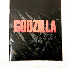 Godzilla 2014 Movie Program Theather Exclusive in Japanese