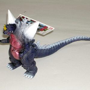Toho Kaiju Space Godzilla Figure 1998 1st issue Monster Island Tag
