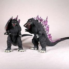 Godzilla 2000 Action Figure Millenium Bandai with Tag