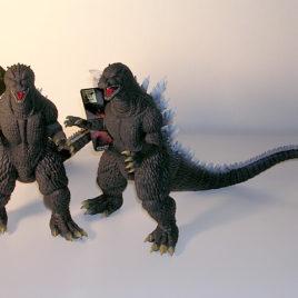 Godzilla 2005 Figure Godzilla Final Wars With Tag