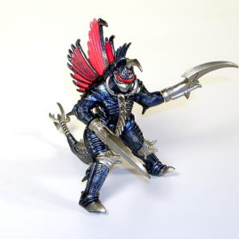 Godzilla High Grade Set 11 Gigan Chainsaw Scythe 2005 Figure