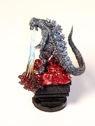 Chess Piece King Godzilla White by Megahouse 2004