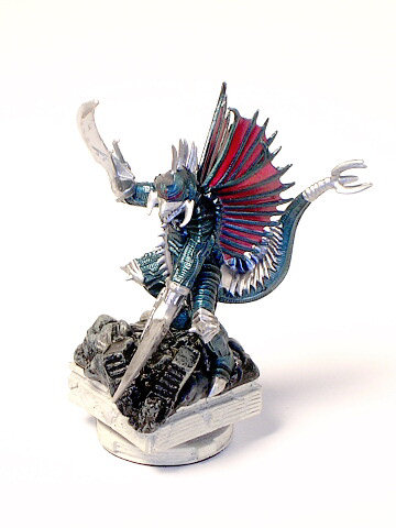 Chess Piece Knight White Gigan by Megahouse 2004