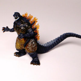 .Godzilla Chronicles High Grade Burning Godzilla FIGURE